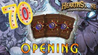 Hearthstone: Открытие 70 Бустеров! BOOSTER PACK OPENING