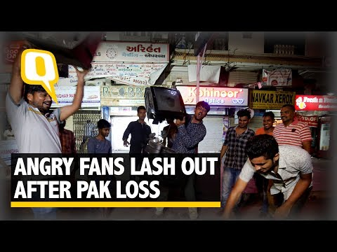 Angry Fans Lash Out After Pak Loss – Burn Player Posters, Break TVs