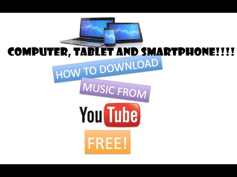 HOW TO DOWLOAD ANYTHING FROM YOUTUBE FREE ON COMPUTER, TABLET AND SMARTPHONE!