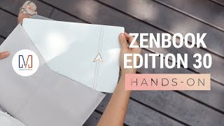 ASUS ZenBook Edition 30 Unboxing and Hands-On