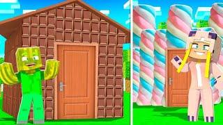 SCHOKOLADE HAUS vs. MARSHMALLOW HAUS ✿ Minecraft [Deutsch/HD]