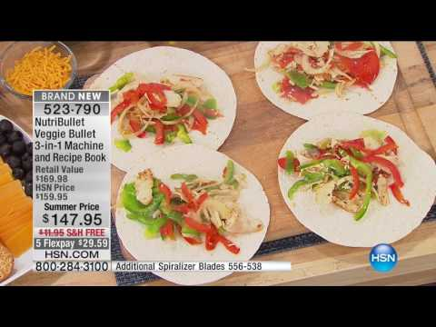 HSN | As Seen On TV featuring Veggie Bullet Premiere 05.08.2017 - 01 PM