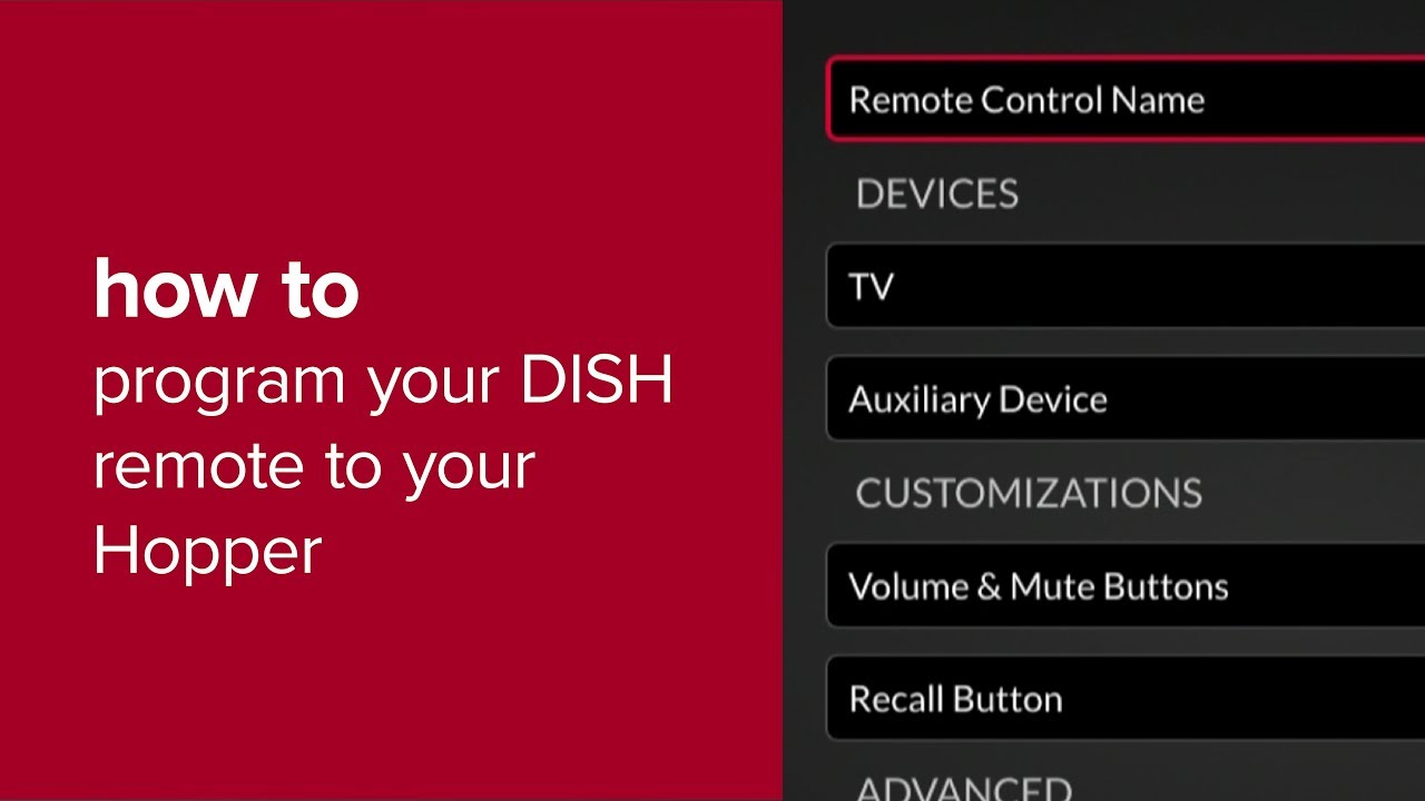 How to Program Remote to Receiver | MyDISH | DISH Customer Support