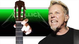 Metallica - Welcome Home на Гитаре (Разбор)