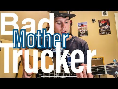 ERIC CHURCH - Bad Mother Trucker GUITAR LESSON