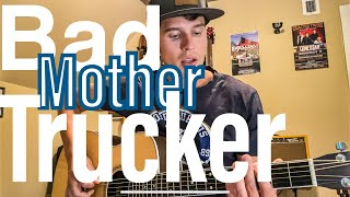 ERIC CHURCH - Bad Mother Trucker GUITAR LESSON