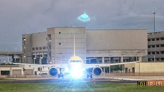 UFO Hovers over Spirit Airbus TPA