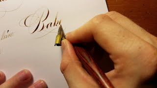 Calligraphy Compilation With Dip Pen