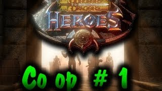 Dungeons n Dragons Heroes Co op Pt 1
