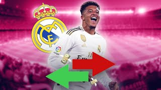 Real Madrid Want To Steal Jadon Sancho From Manchester United's Grasp! | Oh My Goal