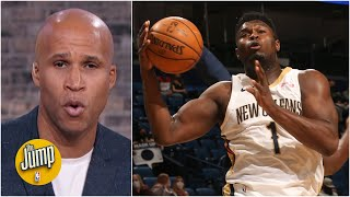 'Is it just me, or has Zion Williamson's athleticism gone down?' - Richard Jefferson | The Jump