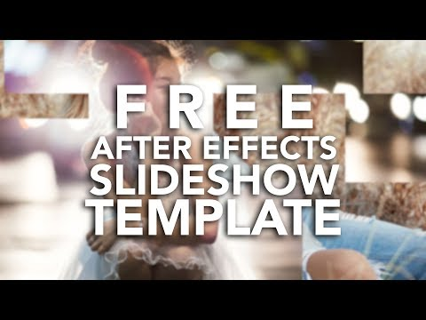 Free After Effects Slideshow Blocks Template