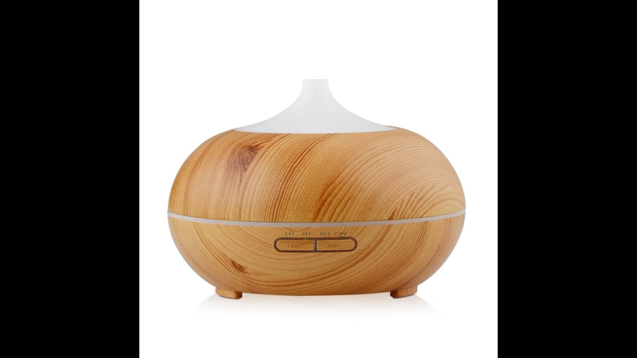 Innogear 174 300ml Wood Grain Essential Oil Diffuser Review