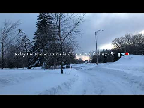 weather today 1 February 2019 Quebec City Canada 🇨🇦