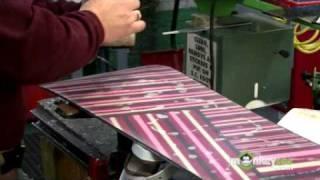 Waxing the Snowboard
