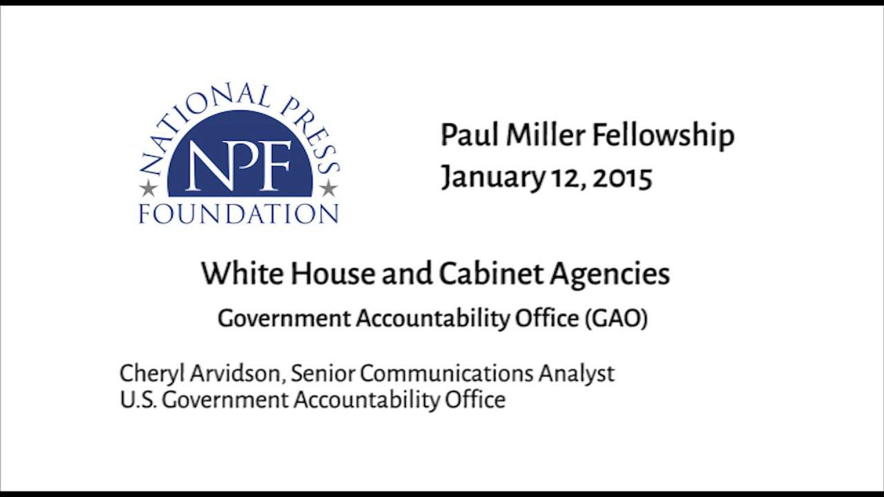 Government Accountability fice GAO