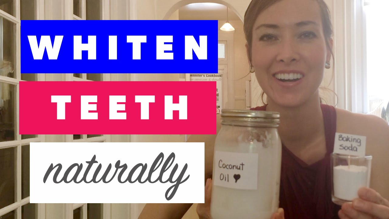 How To Whiten Teeth With Baking Soda And Coconut Oil Natural