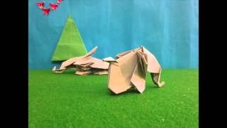 Origami Elephants and the Thin Green Line