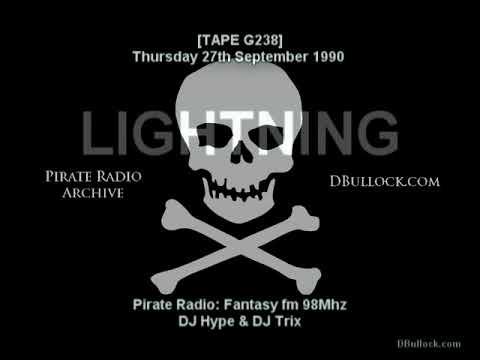 [G328-S2] Lightning Fm ~ 27/09/1990 ~ Ragga Pirate Radio