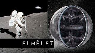 A Hold, egy földönkívüli civilizáció gigantikus űrhajója