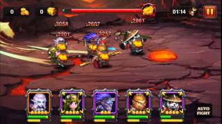 Heroes Charge LV 90 Beat Burning Phoenix Difficulty V