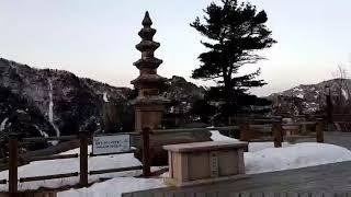 설악산 봉정암 석탑 2018년12월