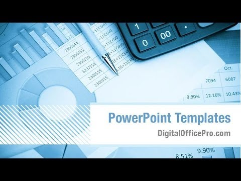 Financial Statements Powerpoint Template Backgrounds