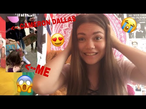 BEEN ON MY KNEES IN FRONT OF CAMERON DALLAS?! |Magcon Experience