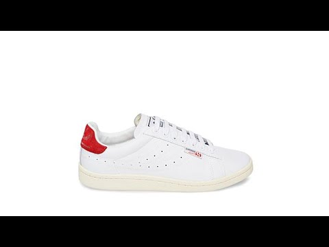 Superga IVAN LENDL LEATHER SNEAKERS KY7Fdt0Jr