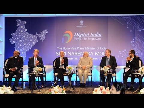PM Modi attends Digital India and Digital Technology Dinner in San Jose, California
