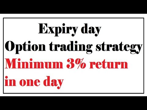 expiry day option trading strategies