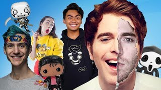 Famous Youtubers Who Own Funko Pops (Shane Dawson, Ninja)