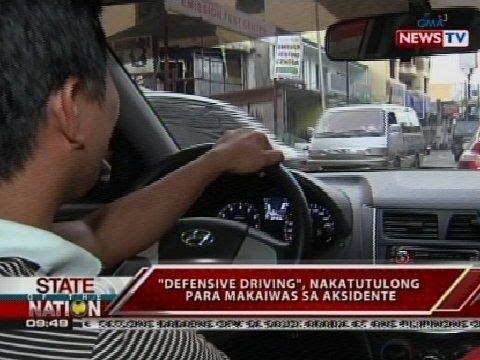 SONA: Defensive driving, nakatutulong para makaiwas sa aksidente