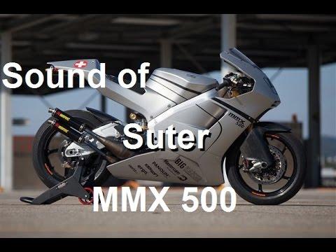 Pure Sound of 2 strokes v4 engine Suter MMX 500 - 2 thì 500cc