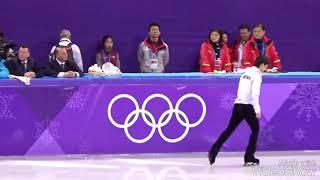 2018.2.16 PyeongChang Olympic Mens SP 6minutes Practice  Yuzuru Hanyu