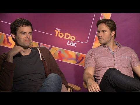 Bill Hader and Scott Porter on The To Do List's Sex s