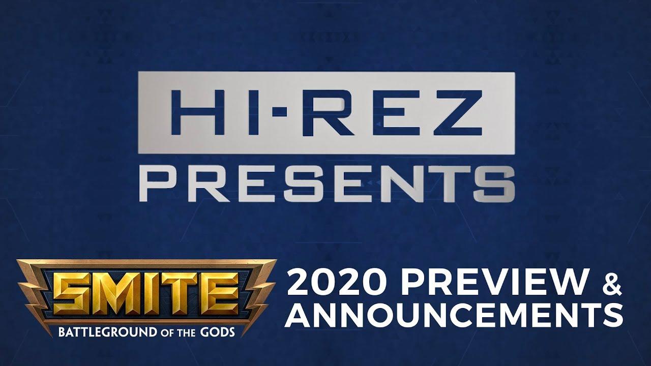 Smite God Tier List 2020.Hi Rez Presents Smite 2020 Preview Announcements