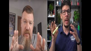 A Vape Reviewer Reacting to a Reviewer Reacting to a Reviewer.