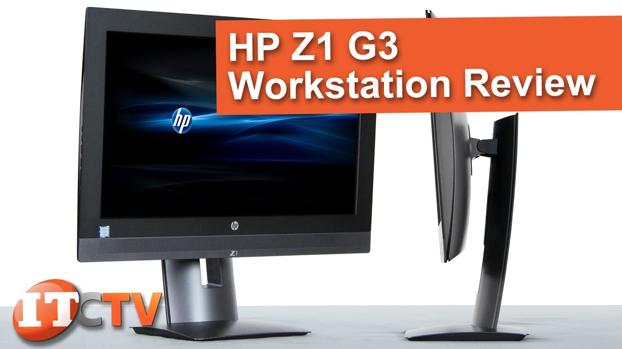 HP Z1 G3 All-In-One Workstation Review