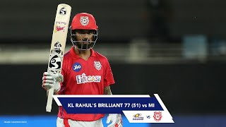 KL Rahul's Brilliant Knock in THAT Match Against Mumbai Indians
