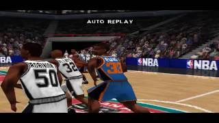 NBA Live 99 PS1 Gameplay HD