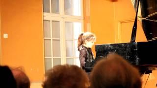 concours de piano - Chatou 2013