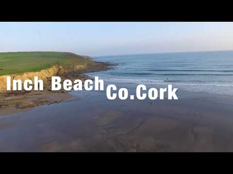 Inch Beach, Co.Cork, Ireland Drone Footage