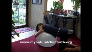 Birthing Ball Exercises- Natural Childbirth Video