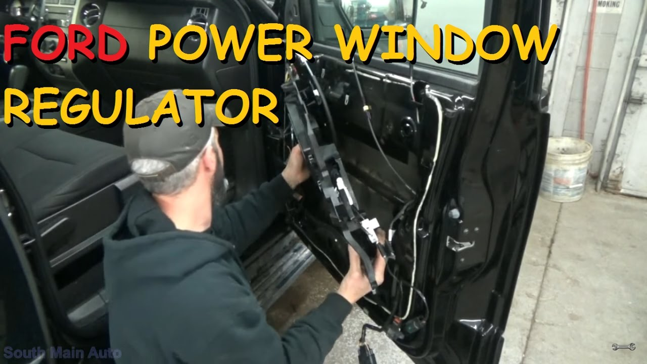 Ford Expedition Power Window Regulator Replacement Youtube