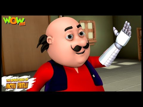Robot Hand - Motu Patlu in Hindi WITH ENGLISH, SPANISH & FRENCH SUBTITLES thumbnail