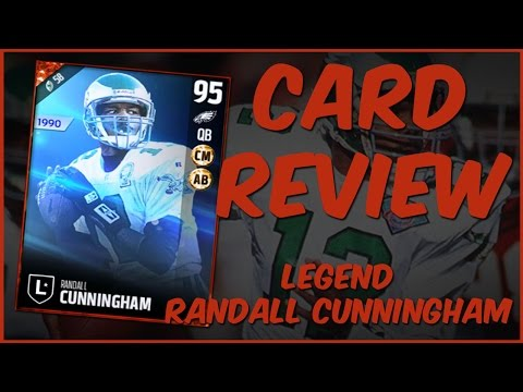 MUT 17 Card Review | Legend Randall Cunningham Gameplay + Card Review