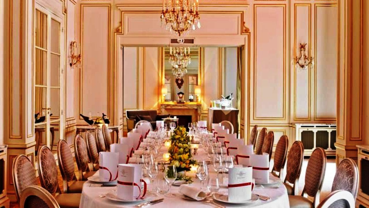 Hotel Plaza Athenee Paris France