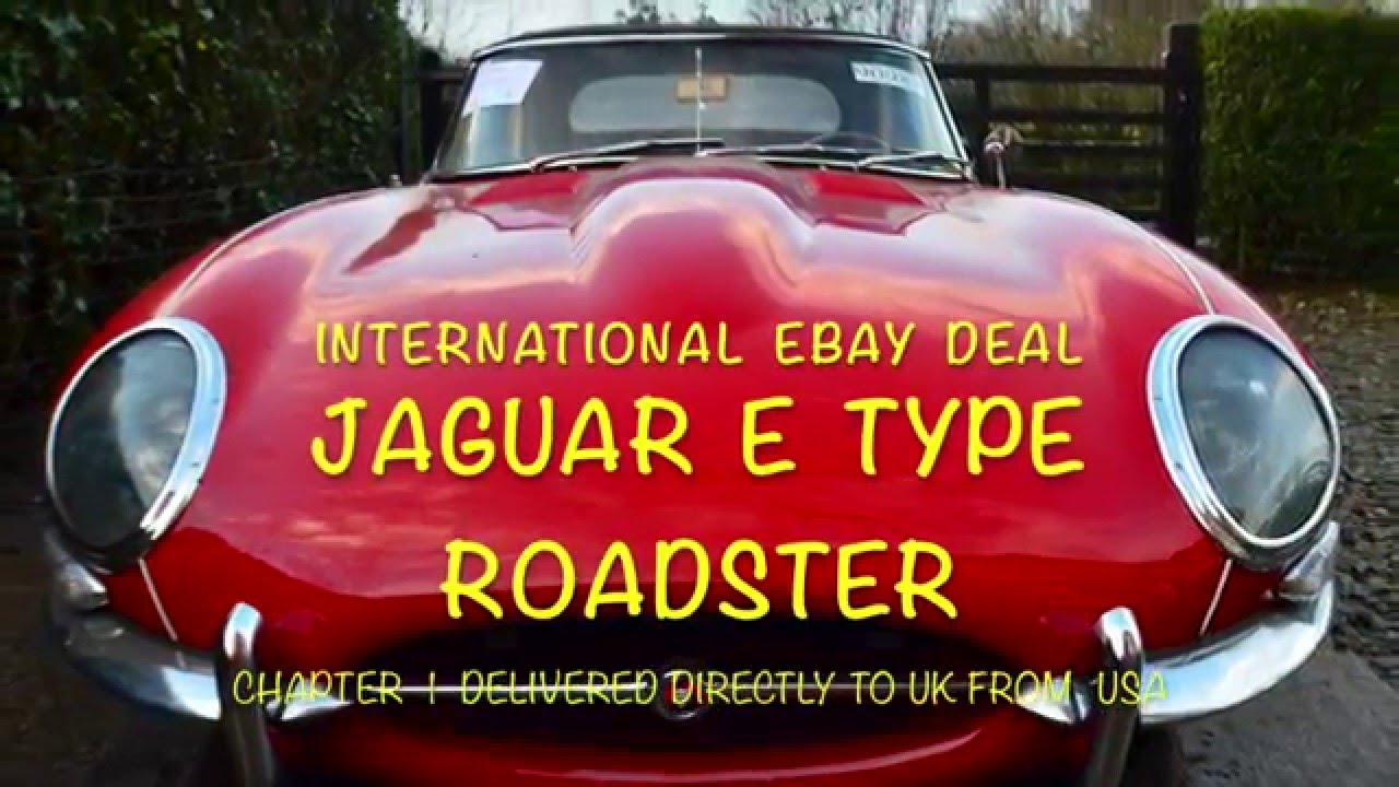 The E type has landed International eBay classic car deal - YouTube