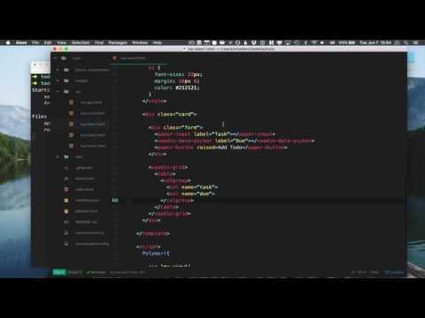 Building a Progressive Web App (PWA) with Polymer Tutorial
